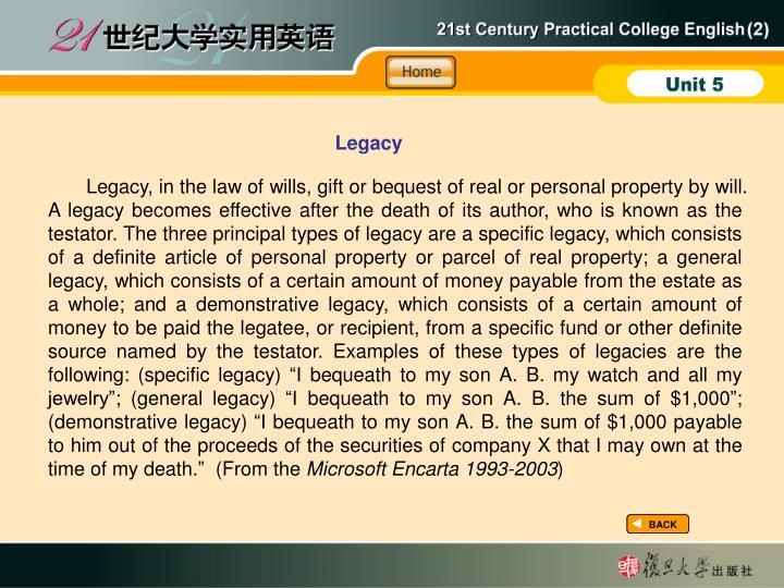 BI-Legacy