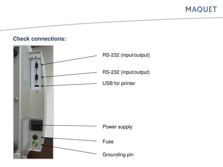 RS-232 (input/output)