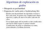 algoritmos de exploraci n en grafos1