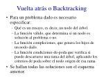 vuelta atr s o backtracking1