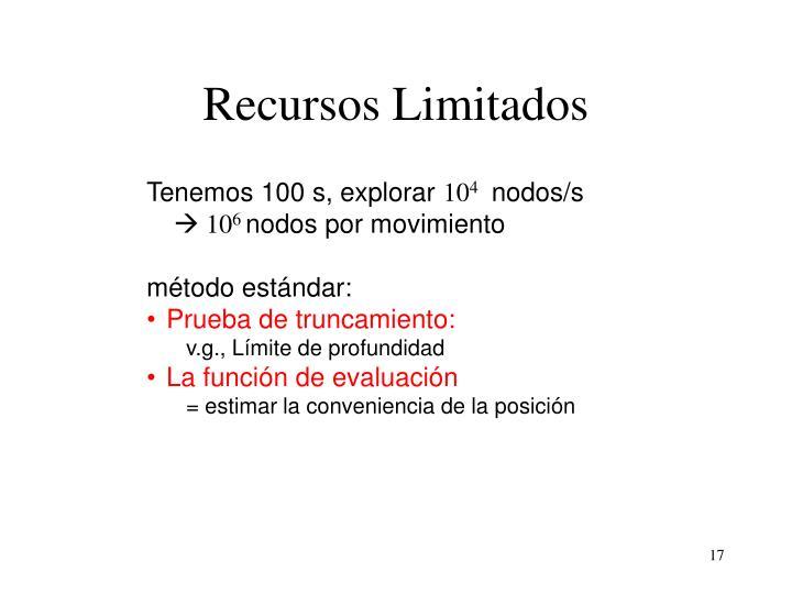 Recursos Limitados