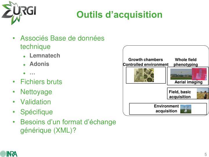 Growth chambers