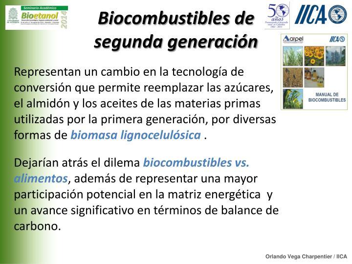 Biocombustibles de