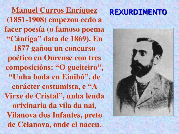 Manuel Curros Enríquez
