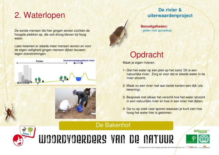 De rivier & uiterwaardenproject