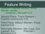 feature writing1