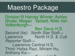 maestro package2