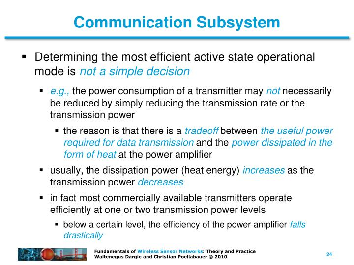 Communication Subsystem