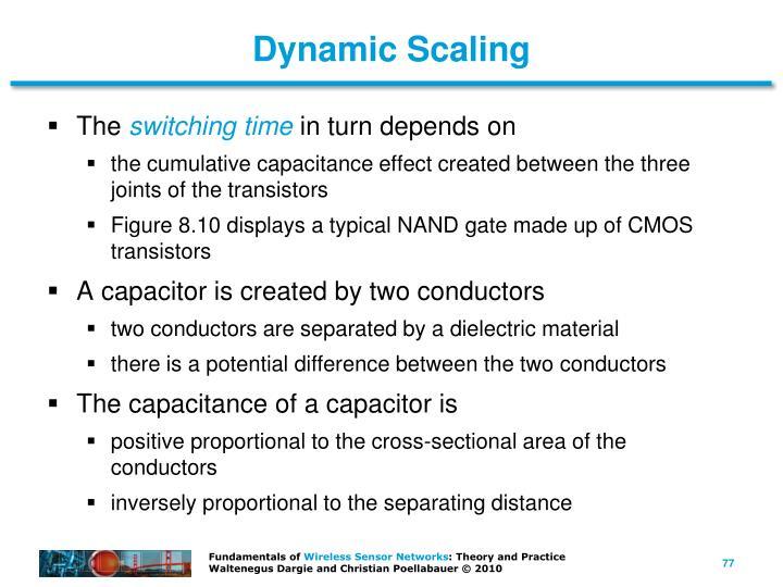 Dynamic Scaling