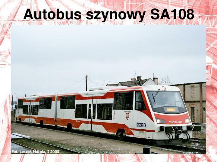 Autobus szynowy SA108
