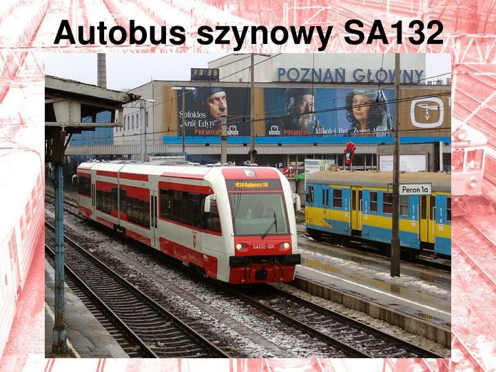 Autobus szynowy SA132