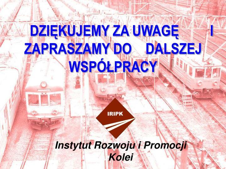 Instytut Rozwoju i Promocji Kolei