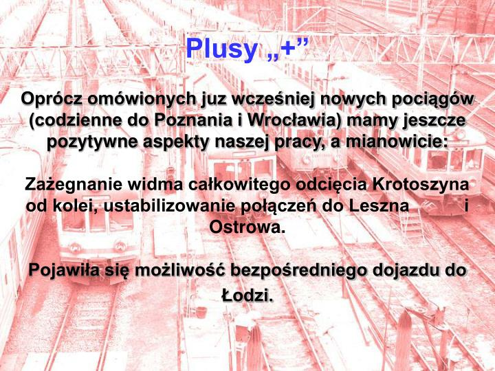 "Plusy ""+"""