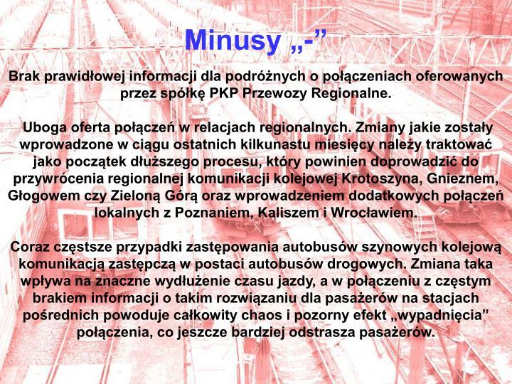 "Minusy ""-"""