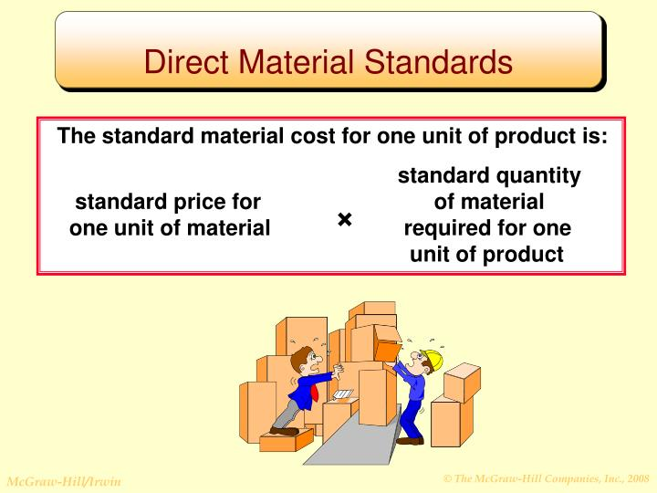 Direct Material Standards