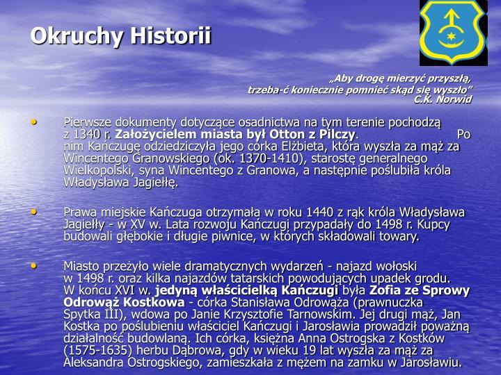 Okruchy Historii