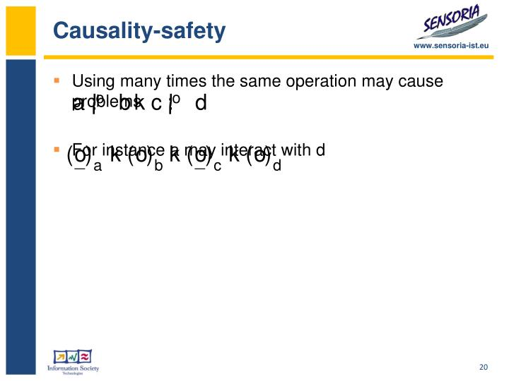 Causality-safety