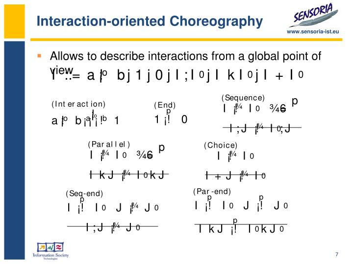 Interaction-oriented Choreography