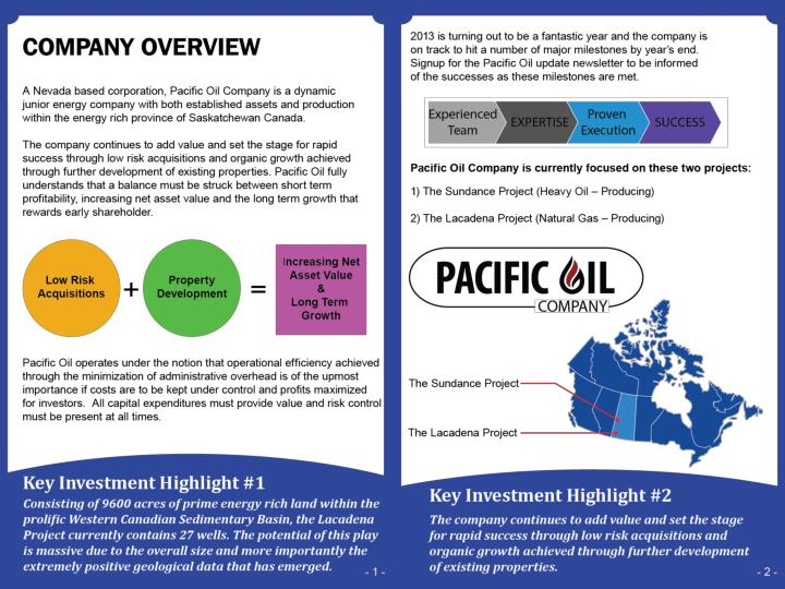 Pacific oil powerpoint october 21 2013