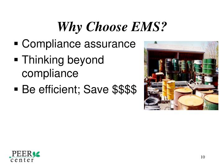 Why Choose EMS?