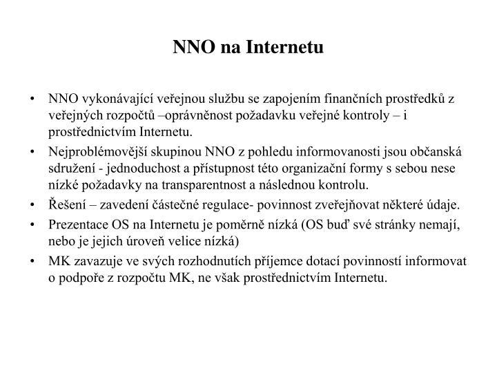 NNO na Internetu