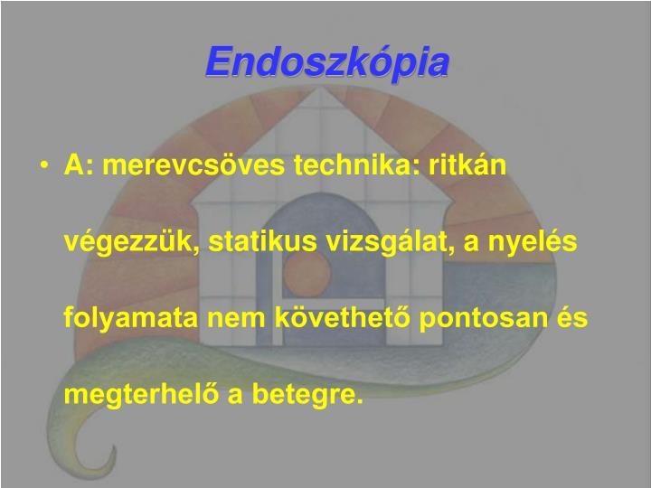 Endoszkópia