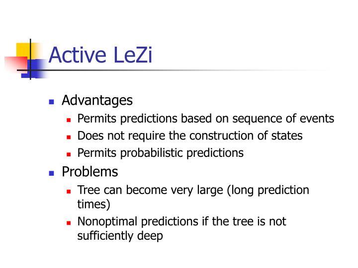 Active LeZi