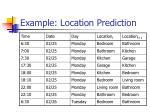 example location prediction1