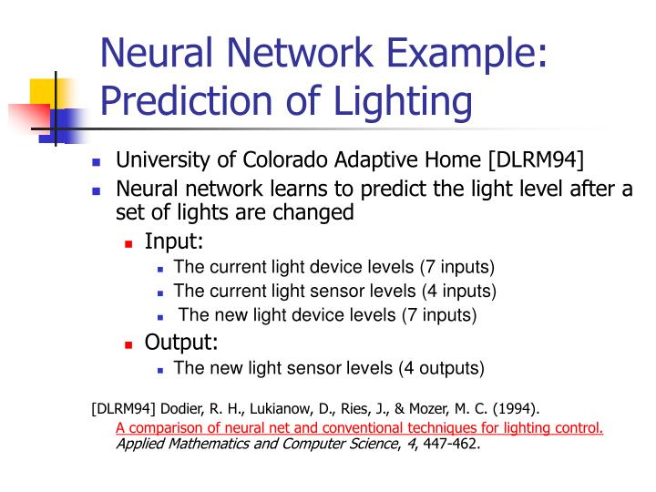 Neural Network Example: