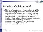 what is a collaboratory1