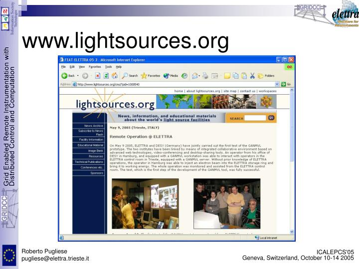 www.lightsources.org