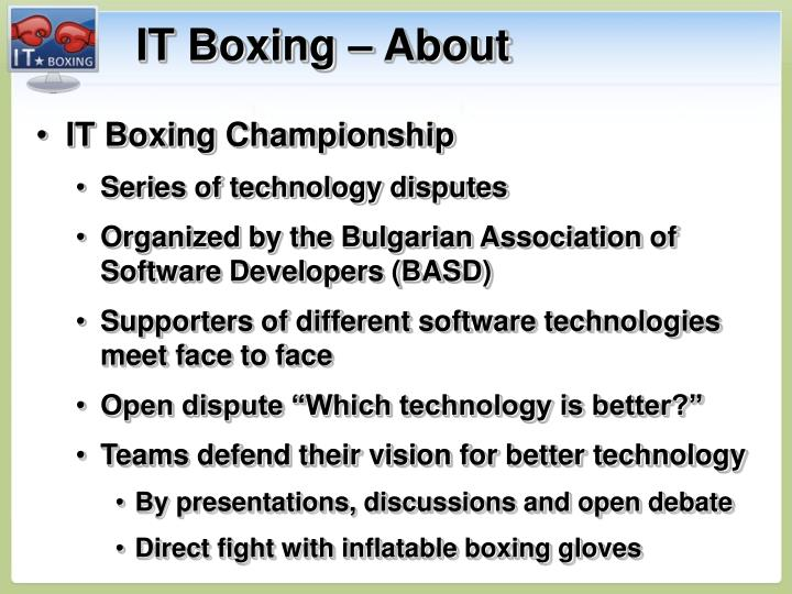 IT Boxing – About
