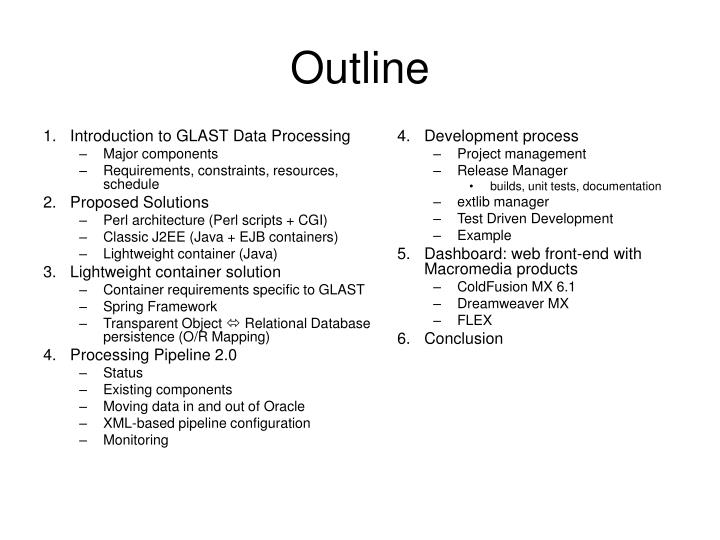 Introduction to GLAST Data Processing