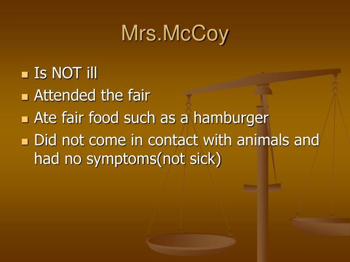 Mrs.McCoy