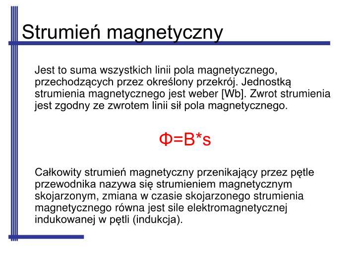 Strumień magnetyczny