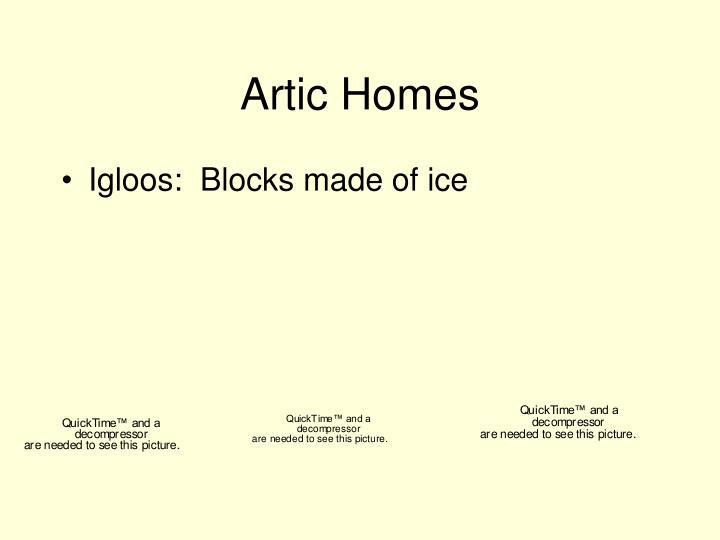 Artic Homes