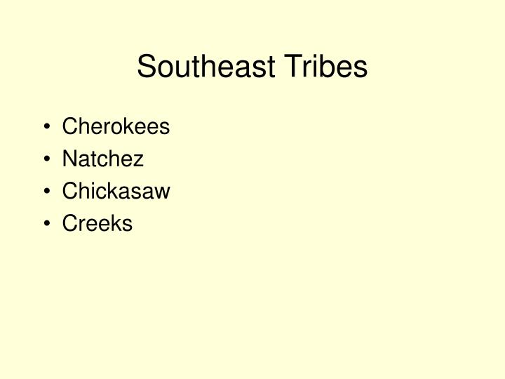Southeast Tribes
