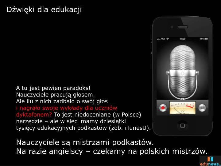 Dźwięki dla edukacji