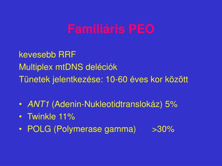 Familiáris PEO