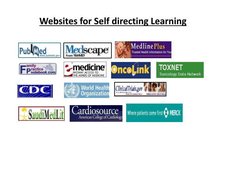 Websites for Self directing Learning