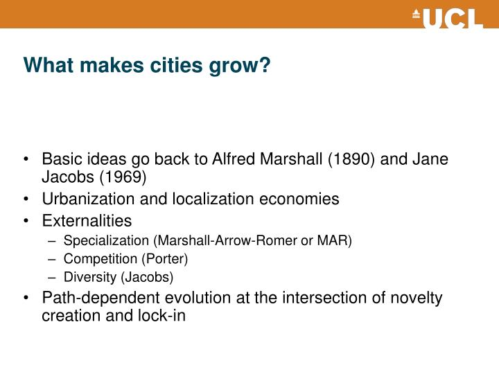 What makes cities grow
