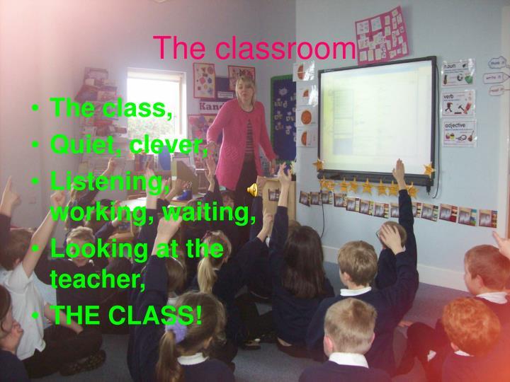 The class,
