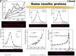 some results protons