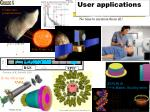 user applications