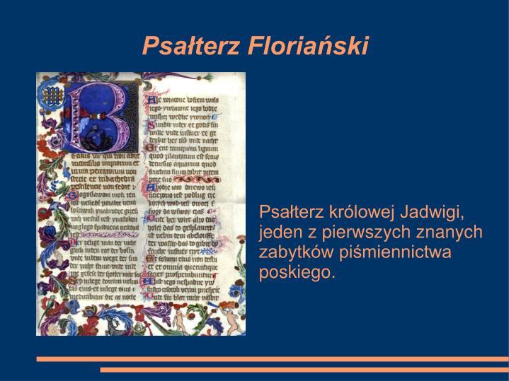 Psałterz Floriański