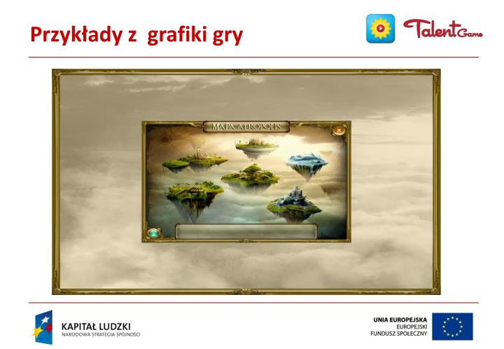 Przykłady z  grafiki gry