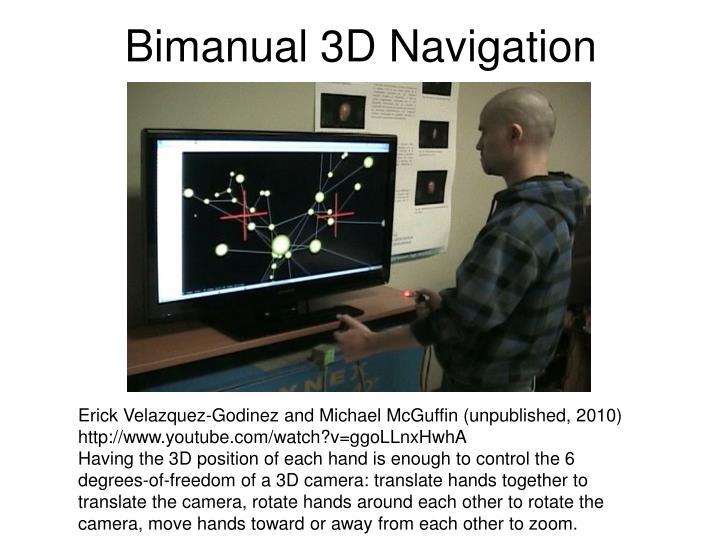 Bimanual 3D Navigation