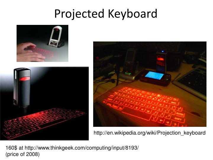 Projected Keyboard