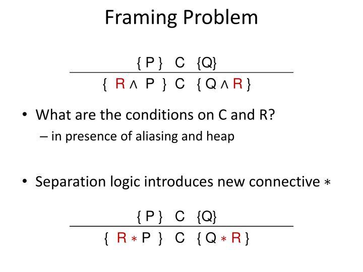 Framing Problem