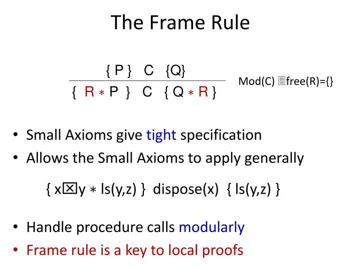 The Frame Rule